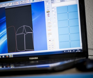 Corte computerizado de lámina