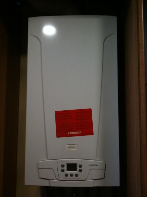 Instalacion calderas calefaccion