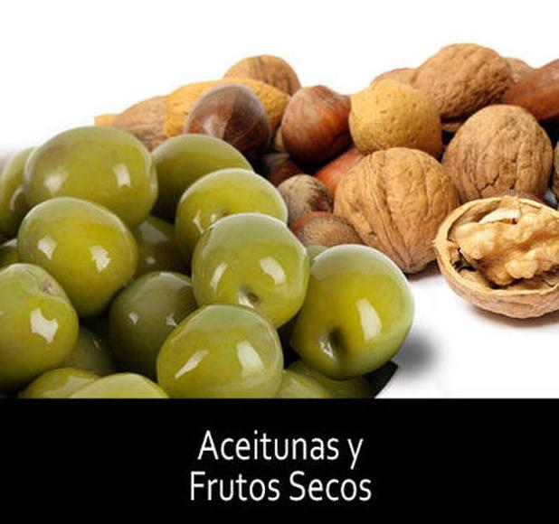 Aceitunas y Frutos Secos: Productos de Grupo Salcedo