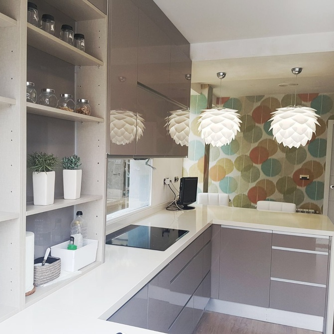 Encimeras de cocina: materiales y elementos