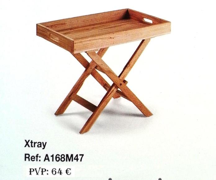 Colección Back in time - Bandeja madera apoyo