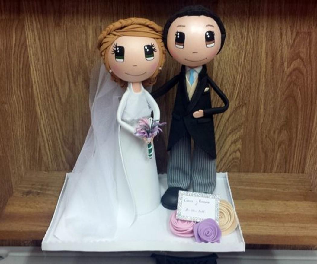 Unas fofuchas de los novios, un regalo de bodas único