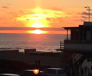 Puesta de sol desde nuestro restaurante