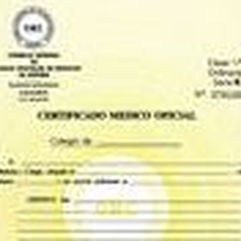 Certificados Médicos Oficiales: Servicios de Centro Médico Riofrío