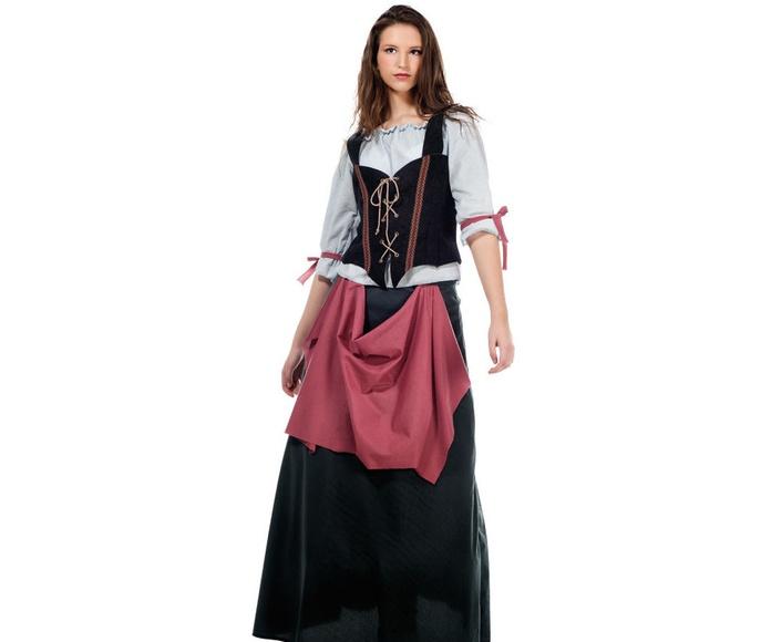 Disfraz mesonera medieval Inés