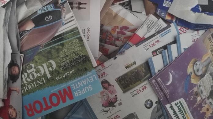 Reciclaje de Revistas