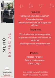 Restaurante Somallao, Menú Especial 9 al 15 de Junio de 2021