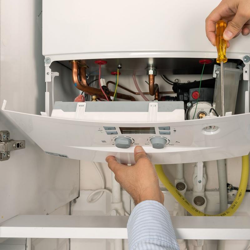 Contrato mantenimiento Estrella - Caldera de gas: Servicios de Satmiñor