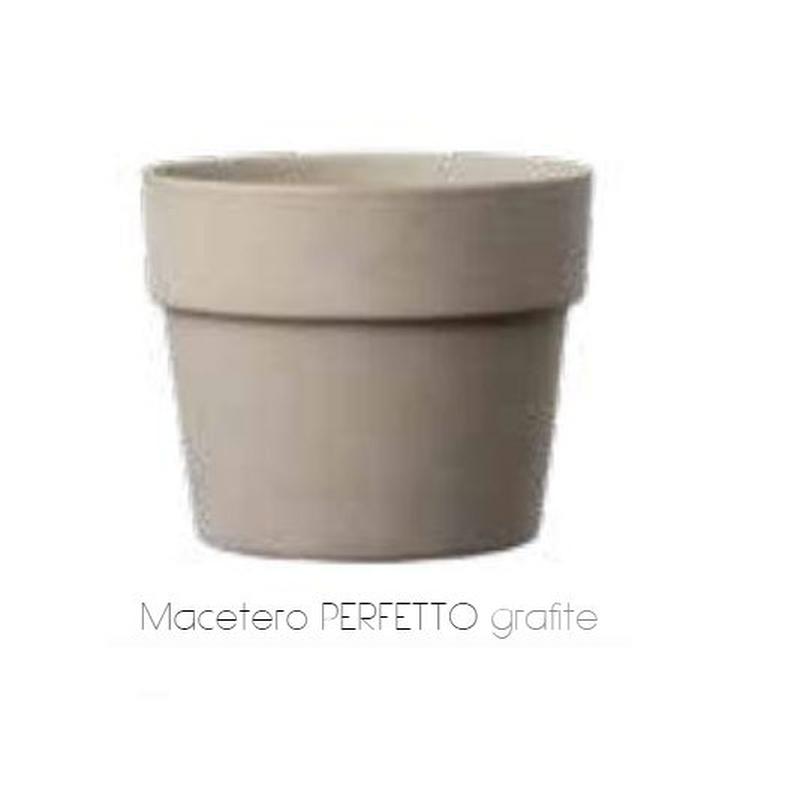 Macetero Perfetto Grafite: Servicios  de Alfarería Garmendia