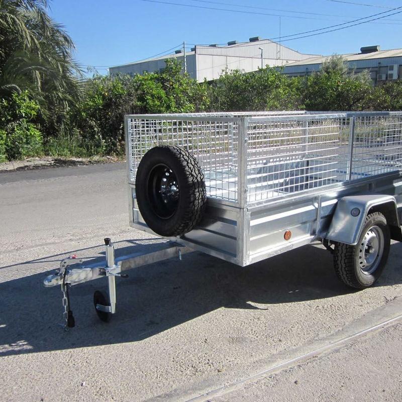 750 Kg Modelo Mallorquín - Medidas 2,20 x 1,20 m -Eje de 1.000 Kg