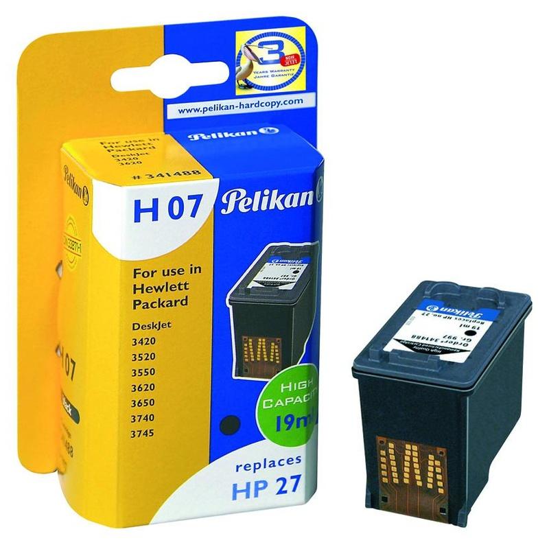 Cartucho HP27 PELIKAN Gr.997