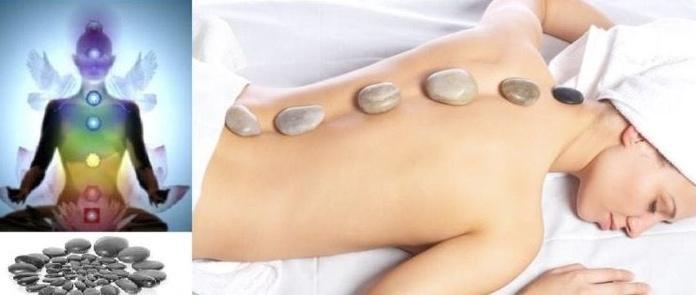 Masaje piedras frias