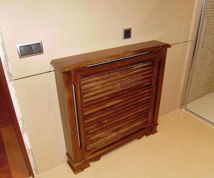 Cubreradiadores: Productos de Ebanistería del Valle