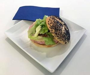 Hamburguesas con diferentes panes