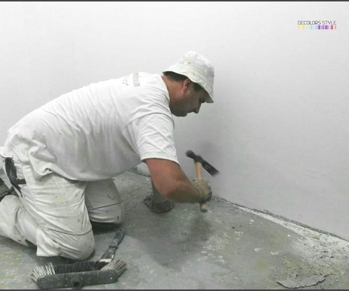 Pintura Industrial - Preparación soporte