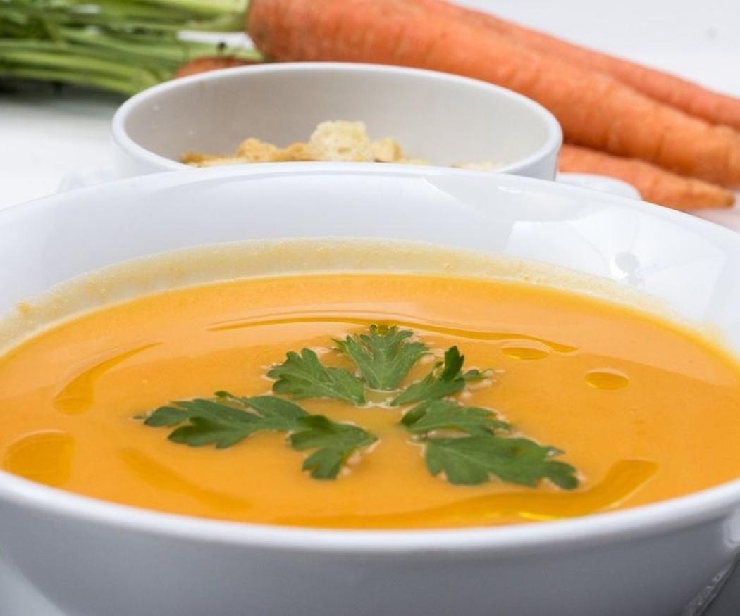 Un delicioso y sencillo puré de zanahorias