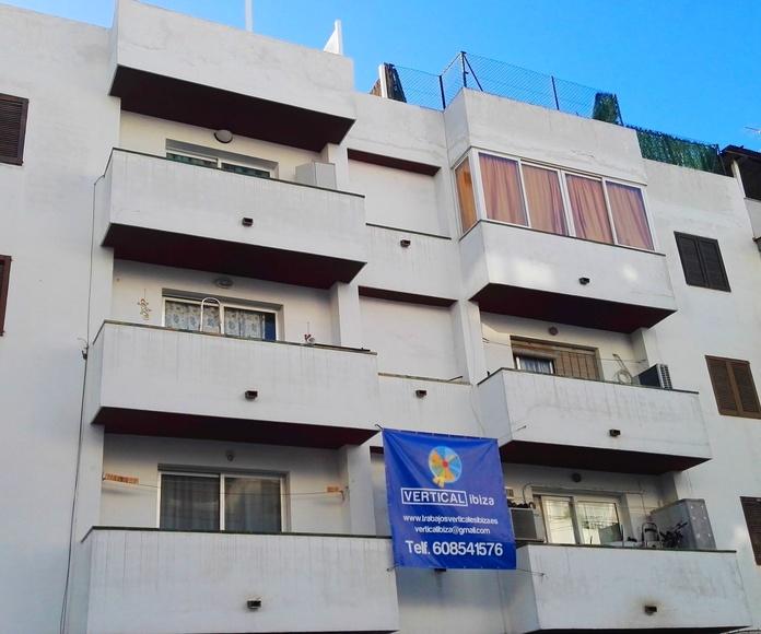 Inicio de Rehabilitación  edificio en Calle Asturias , Eivissa