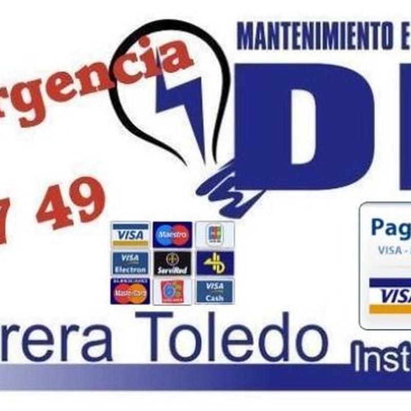 Mantenimiento eléctrico en comunidades en Tenerife: Servicios de Mantenimiento e Instalaciones Eléctricas DHT