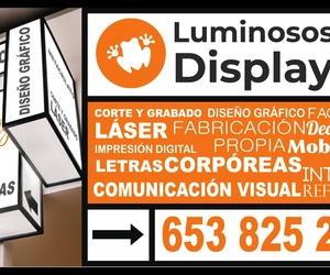 Galería de Rotulación y señalización en El Tablero | Display Cash & Carry