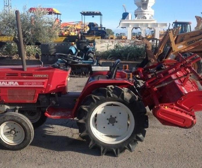 Tractores y cubas: Productos y Servicios de Eloy Pérez S.L.