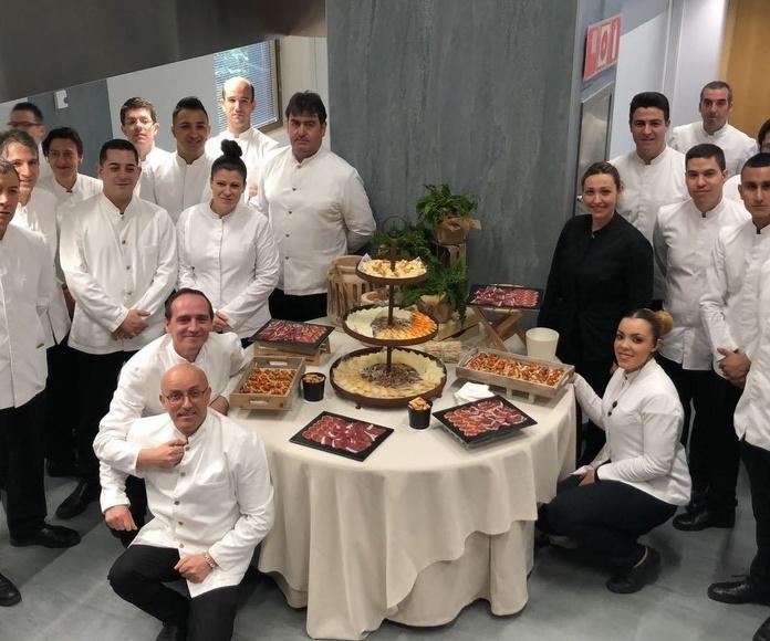 Catering Domenico en la Mutua Madrileña