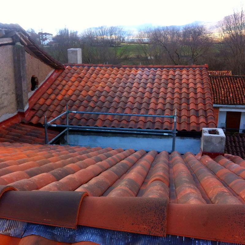 Empresa de rehabilitación de tejados y reparación de goteras Cantabria