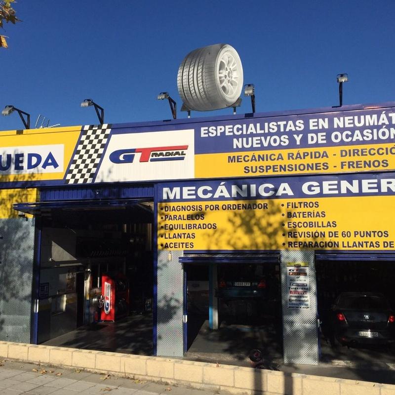 Lubricación: Servicios de Ecorueda Villalba