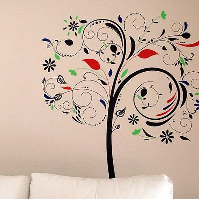 ¿Murales para la pared o pintura?
