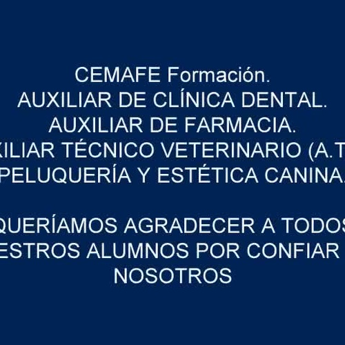CEMAFE - Alumnos titulados.