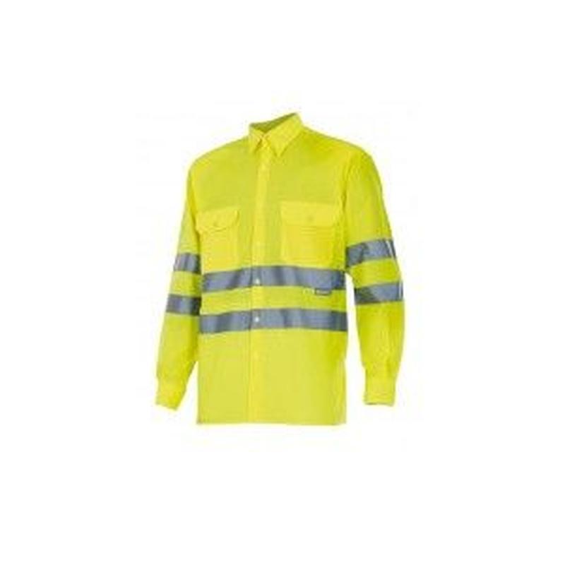 Serie 143 / Camisa manga larga alta visibilidad: Nuestros productos  de ProlaborMadrid