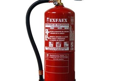Extintores polvo seco