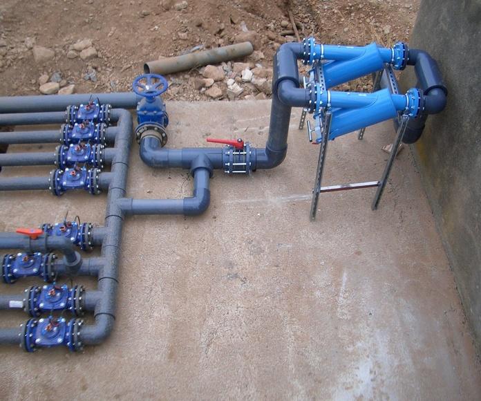 Mantenimiento para automatismos de bombas de agua
