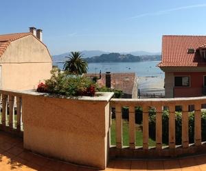 Panorámica de una terraza privada