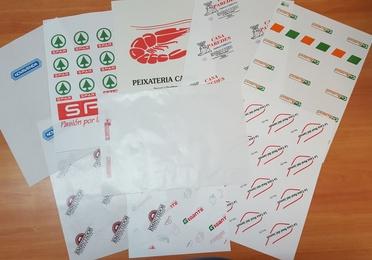 Papeles plastificados