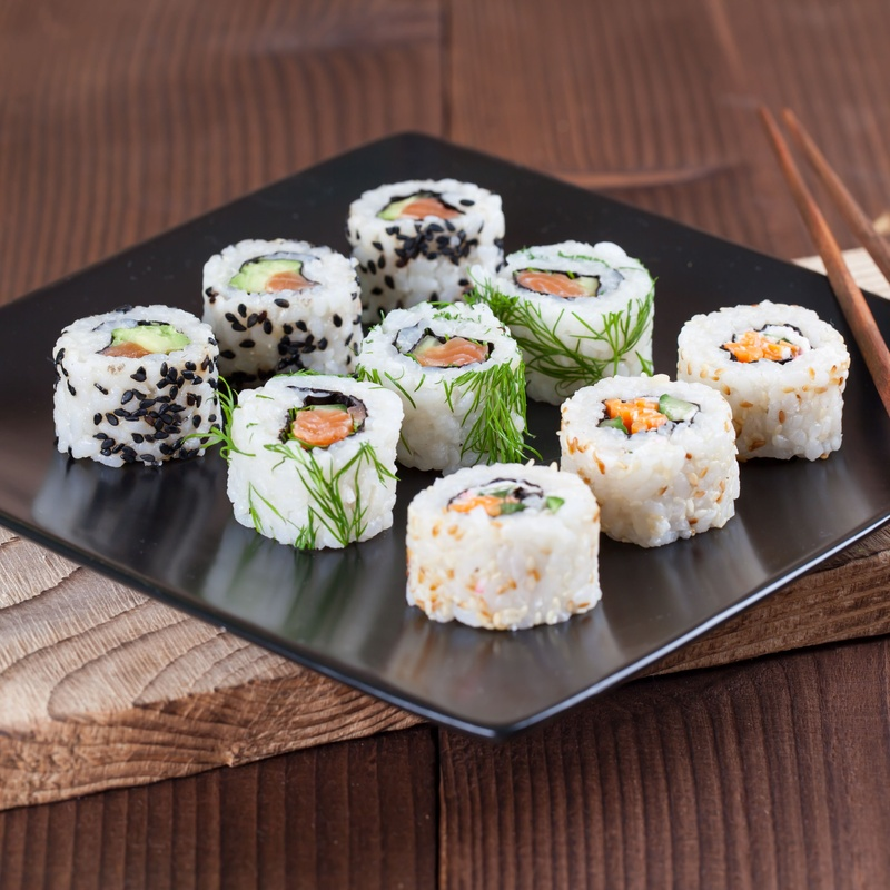 California maki: Carta de Mr. Sushi