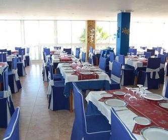 Entrantes: Carta de Restaurante La Marina