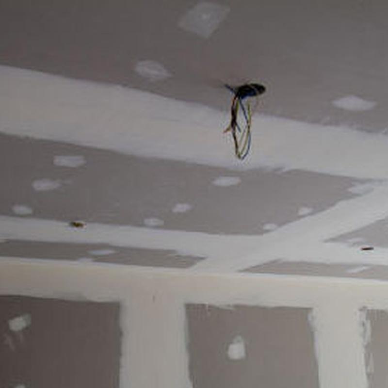 Colocación de falsos techos : Servicios  de Albañilería Ángel Cagide