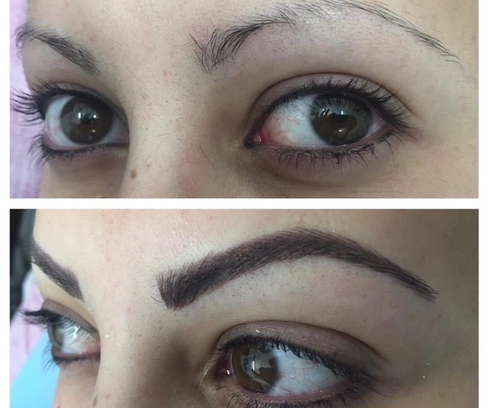 Micropigmentación de cejas: Servicios de Centro de Estética y Peluquería Diana Barajas