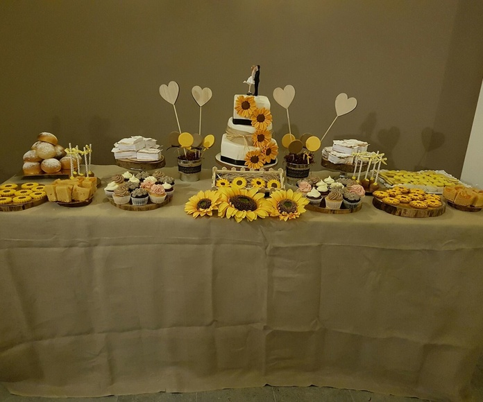 Mesas dulces: Productos de Taller de tartas Can Pinyol