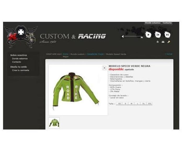 Páginas web: Productos y Servicios de Photoinstant