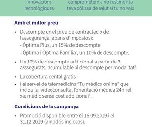 CAMPAÑA SALUD AXA 2019