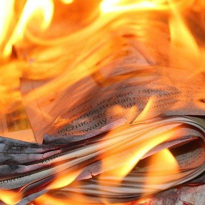 El agua en los incendios