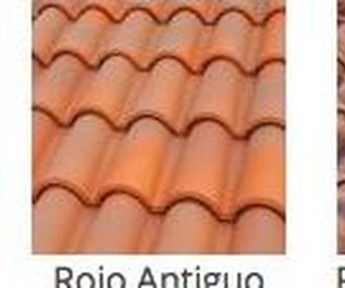 Colores de tejas