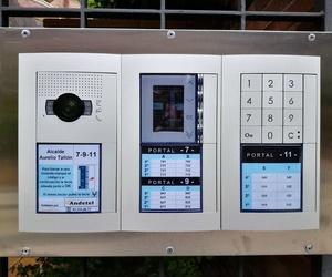 Instalación de videoporteros automáticos en Madrid
