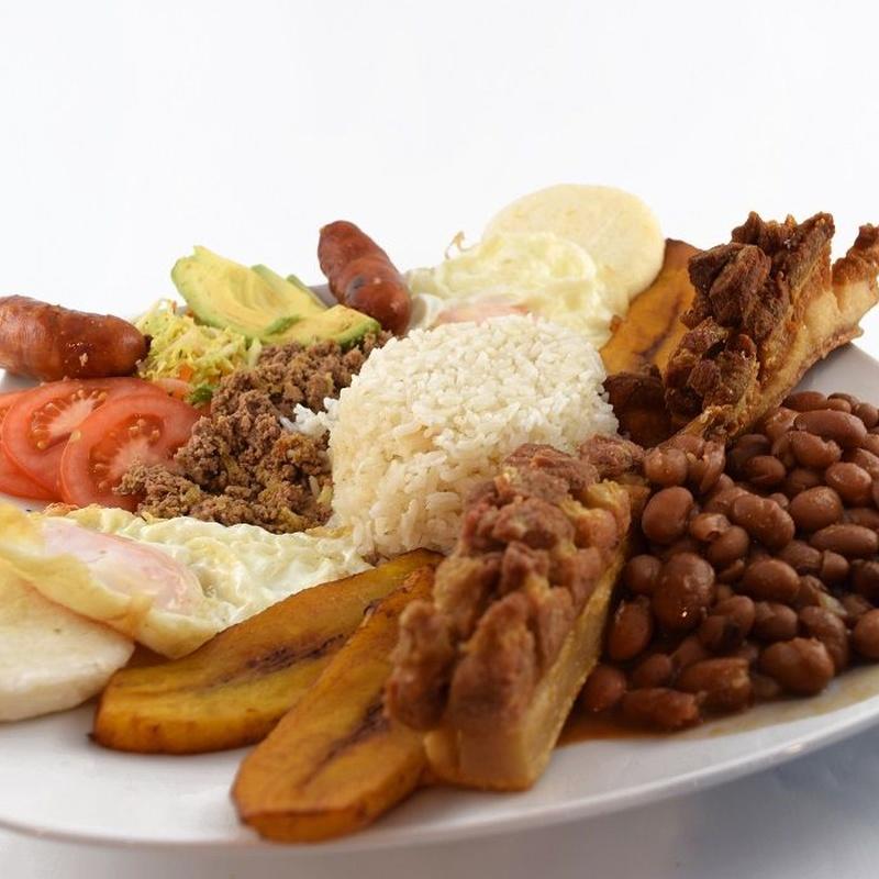Menú colombiano para 2: Servicios, carta y menús de Restaurante Maiz Pelao