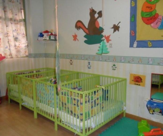 Objetivos específicos de 0 a 3 años: Productos y Servicios de Escuela Infantil Sandy