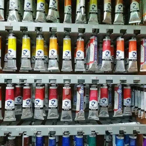 Pinturas para Bellas Artes en Barcelona