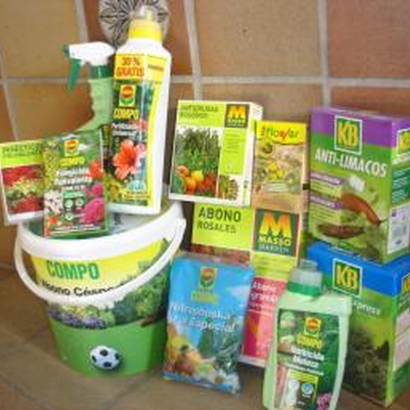 Supermercado del jardín: Plantas y complementos de Viveros Cidoncha