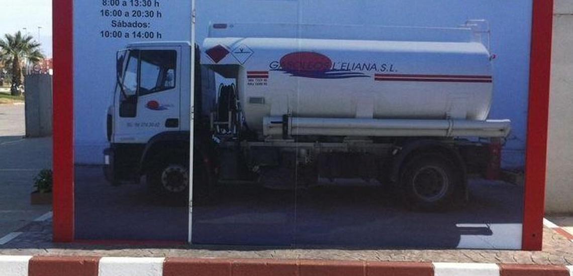Reparto y distribución de gasóleo a domicilio en La Eliana