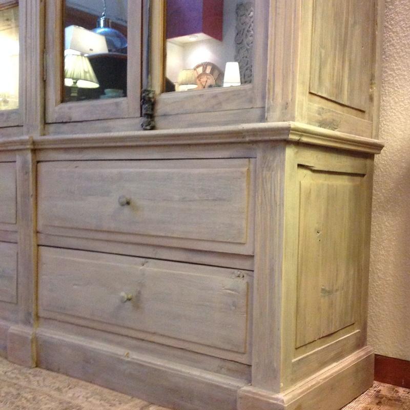 Librería alta con maderas recicladas. : Catálogo de Ste Odile Decoración